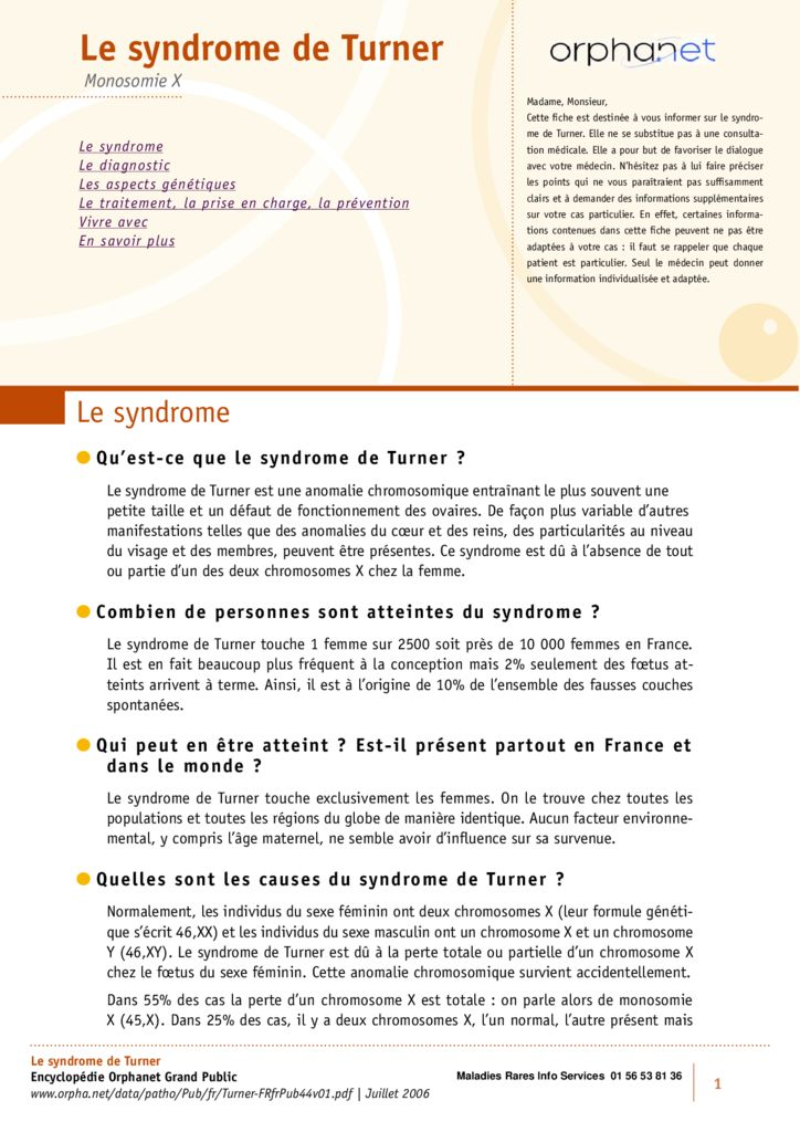 thumbnail of syndrome-de-turner-orphanet